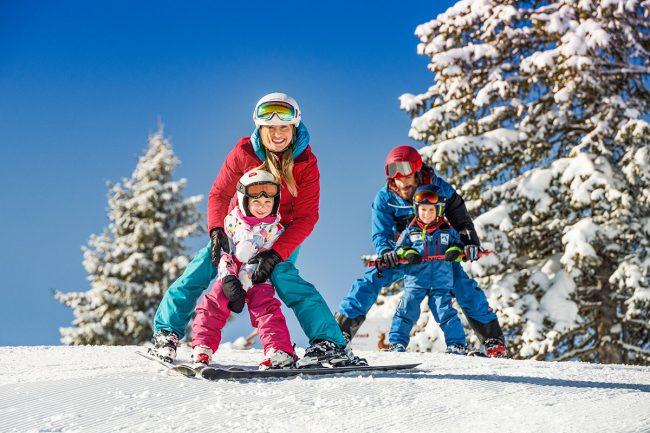 Skifahren im Snow Space Salzburg - Grabenbauer Appartements